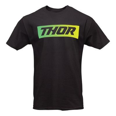 Tee-shirt Thor Blend noir/vert/jaune