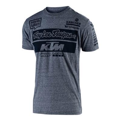 Tee-shirt Troy Lee Designs KTM 2019 gris vintage