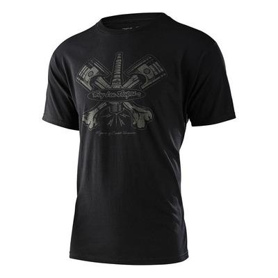 Tee-shirt Troy Lee Designs Pistonbone 40th noir