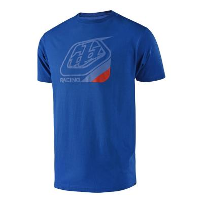 Tee-shirt Troy Lee Designs Precision Vivid bleu/rouge