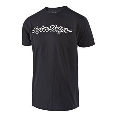 Tee-shirt Troy Lee Designs Signature noir