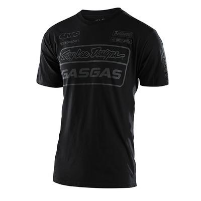 Tee-shirt Troy Lee Designs Team Gas Gas noir