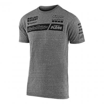 Tee-shirt Troy Lee Designs Team KTM 2020 gris