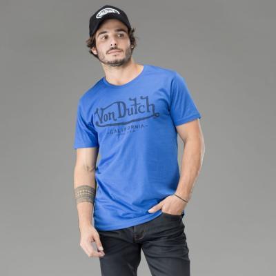 Tee-shirt Von Dutch Brand bleu