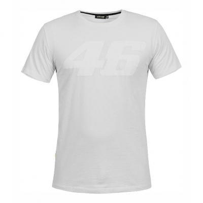 Tee shirt VR46 Core ton sur ton blanc