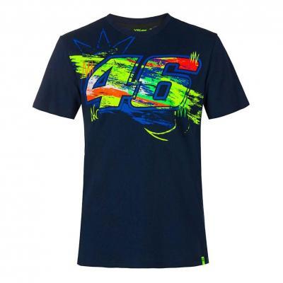 Tee-shirt VR46 Winter Test bleu