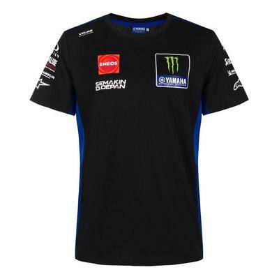 Tee-shirt Yamaha Factory Réplica 2021 noir/bleu