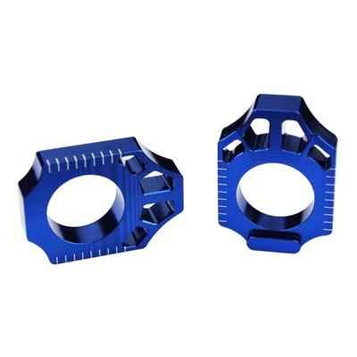 Tendeur de chaîne Scar KTM 125 SX 13-21 bleu