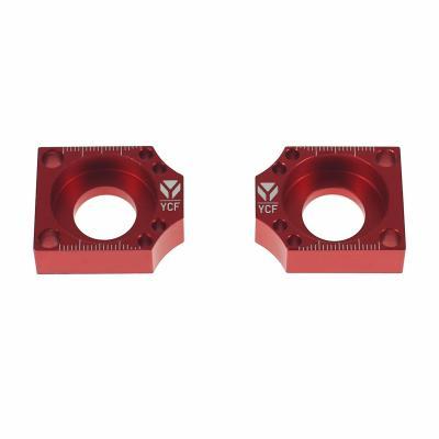 Tendeur de chaine YCF Cnc Factory Ø15 rouge