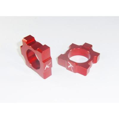 Tendeurs de chaîne Kite Honda CRF 250R 02-17 rouge