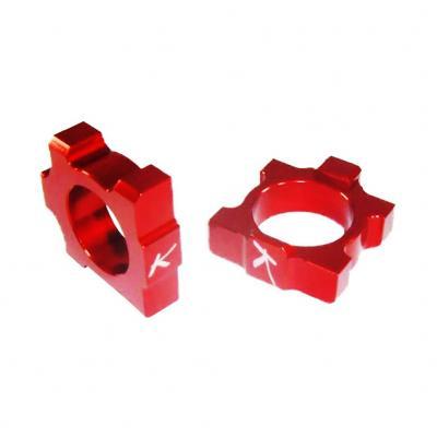 Tendeurs de chaîne Kite Kawasaki 250 KX-F 05-17 rouge