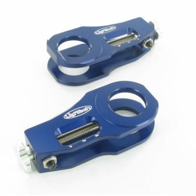 Tendeurs de chaîne LighTech bleu Yamaha YZF-R6 06-16