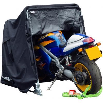 Tente garage moto imperméable noir