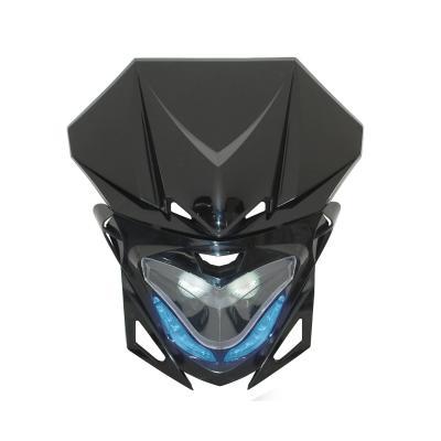 Tête de fourche Replay RR8 noir avec leds bleu