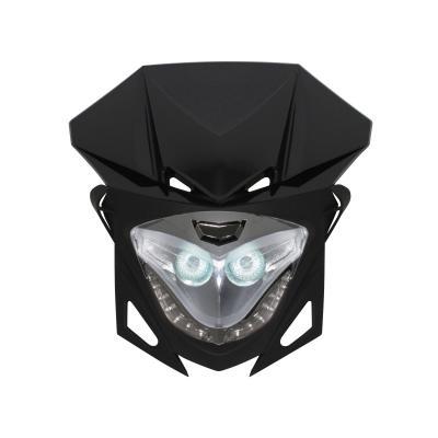 Tête de fourche Replay RR8 noir/chrome avec leds blanches