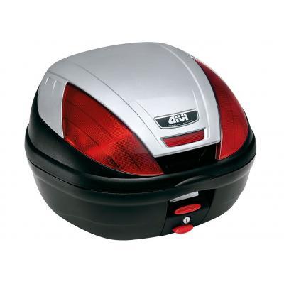 Top case Givi E370 monolock noir avec platine/kit fixation