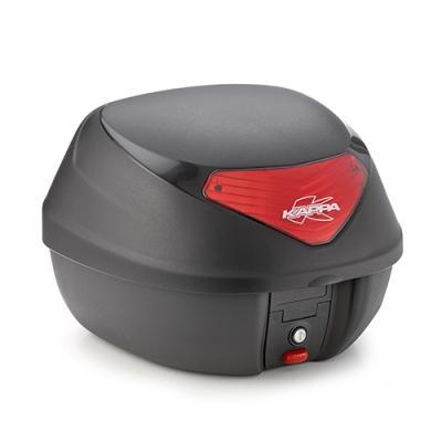 Top case Kappa K29 Monolock 29 Litres noir/rouge