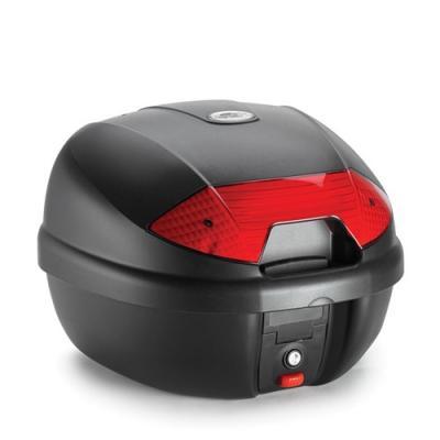 Top case Kappa K30 Monolock 30 Litres noir/rouge