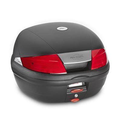 Top case Kappa K35 Monolock 35 Litres rouge/noir