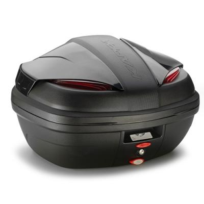 Top case Kappa Manta K47NN Monolock 47 Litres noir brillant/rouge