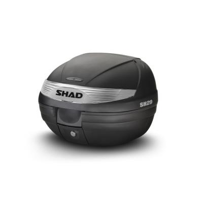Top case Shad SH29 Noir Brut