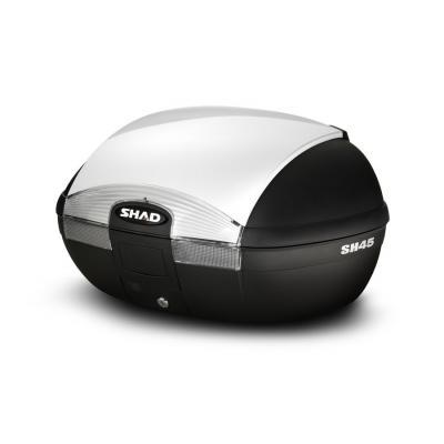 Top case SHAD SH45 Blanc