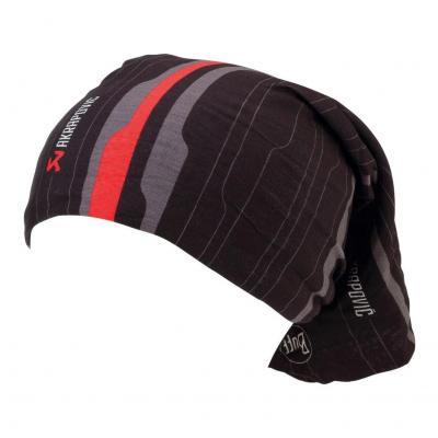 Tour de cou Akrapovic noir/rouge/gris