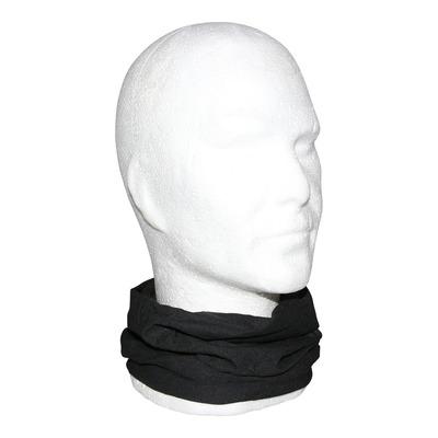 Tour de cou, cache cou, bandeau multi-usage noir