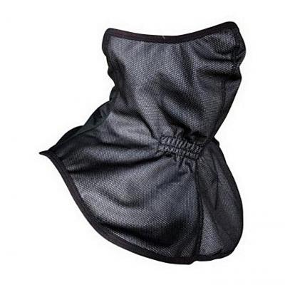 Tour de cou/plastron Steev noir