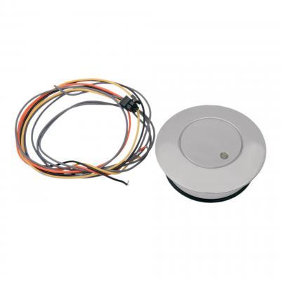 Trappe de réservoir Drag Specialties Pop-up avertisseur LED