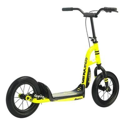 Trottinette Dino Bikes Urban Cross jaune fluo