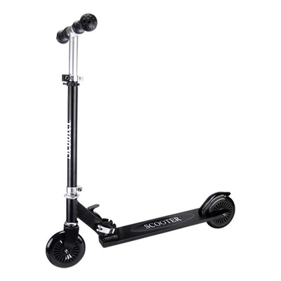 Trottinette junior Scooter roue 120mm noir