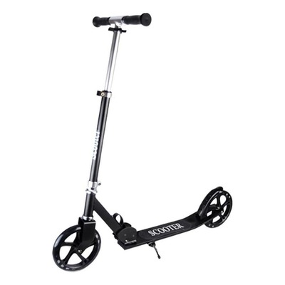 Trottinette junior Scooter roue 200mm noir