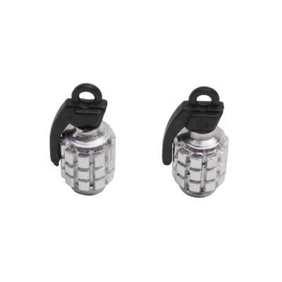 une paire de bouchons de valve grenade