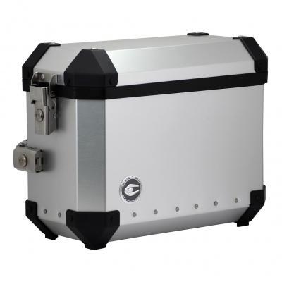 Valises latérales Coocase Aluminium X4 28 l. gris