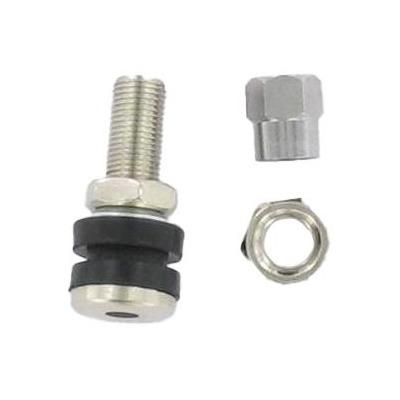 Valve droite 33 mm acier TR161