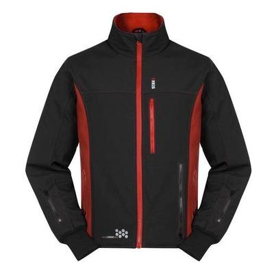 Veste chauffante Keis J501 noire/rouge