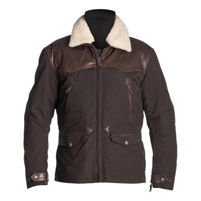 Veste cuir/textile Helstons Canada marron