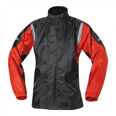 Veste de pluie Held MISTRAL II noir/rouge
