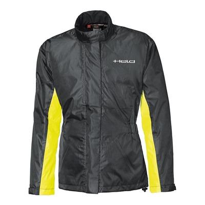 Veste de pluie Held Spume Top noir/jaune