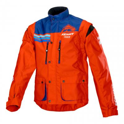 Veste enduro Kenny Track rouge