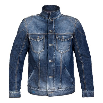 Veste jeans moto PMJ West moyen