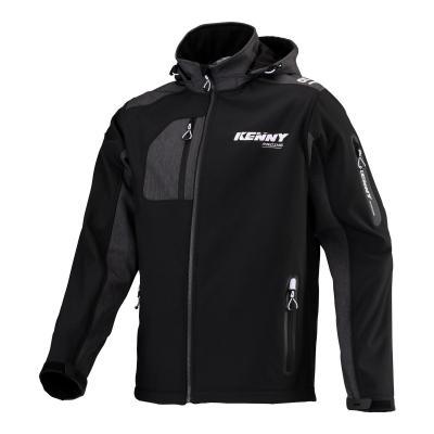 Veste Kenny Softshell Racing noir/gris/blanc