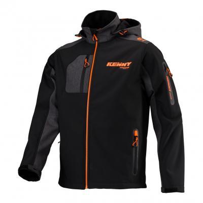 Veste Kenny Softshell Racing noir/gris/orange