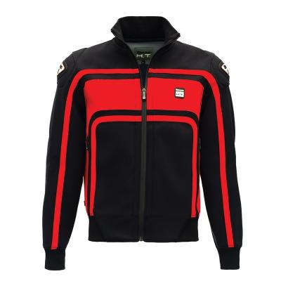 Veste moto homme Blauer Easy Rider noir/rouge