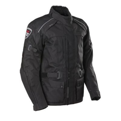Veste moto Sceed24 Downtown Race noir