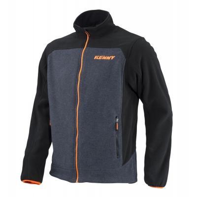 Veste polaire Kenny Racing noir/orange/gris