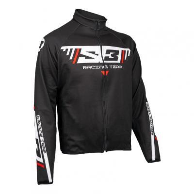 Veste S3 Racing Team noir/blanc/rouge
