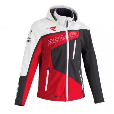 Veste softshell Bering Racing gris/rouge/blanc