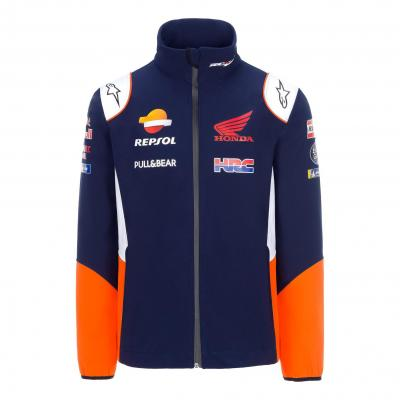 Veste softshell Repsol Honda Team Wear bleu/blanc/orange